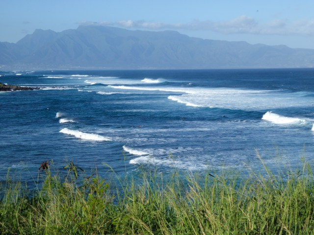 View from the Lookout at Ho'okipa Beach Maui Hawaii
