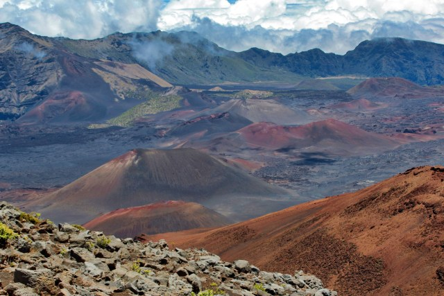 Exploring the Haleakala Crater should be on your list of amazing things to do in Maui!