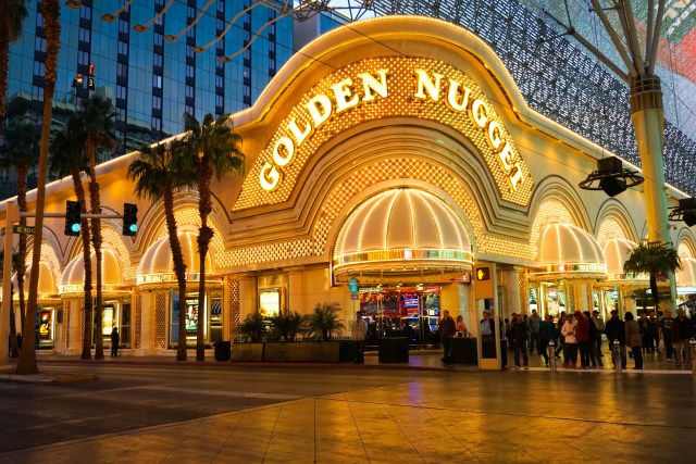 Golden Nugget casino Downtown Las Vegas Nevada