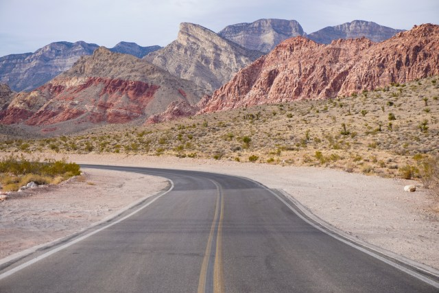 Red Rock Canyon Scenic Drive Nevada