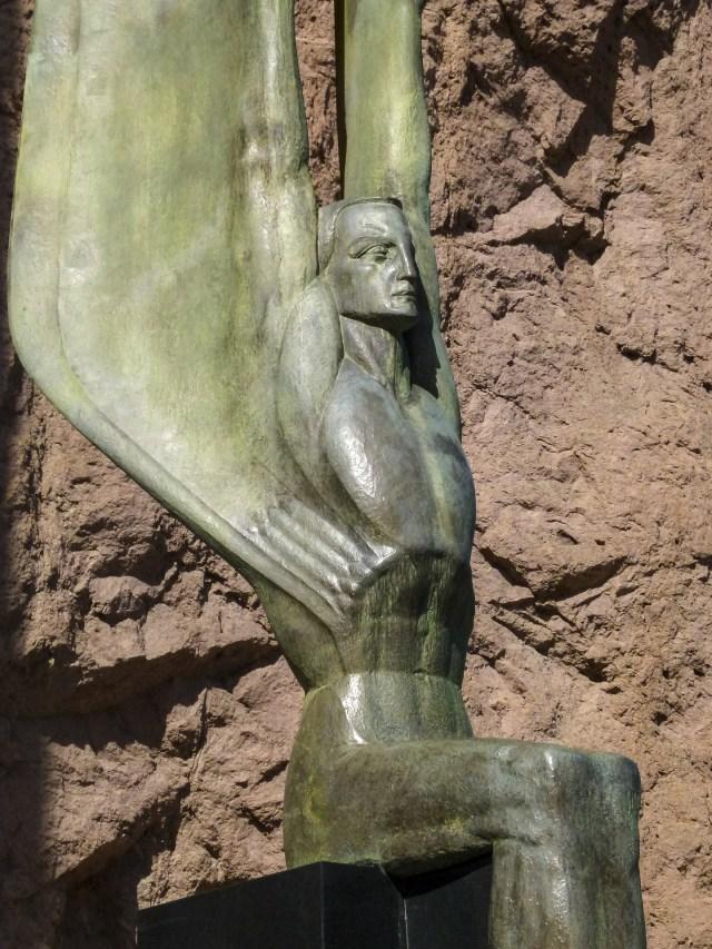 Winged Figures of the Republic Lake Mead Nevada