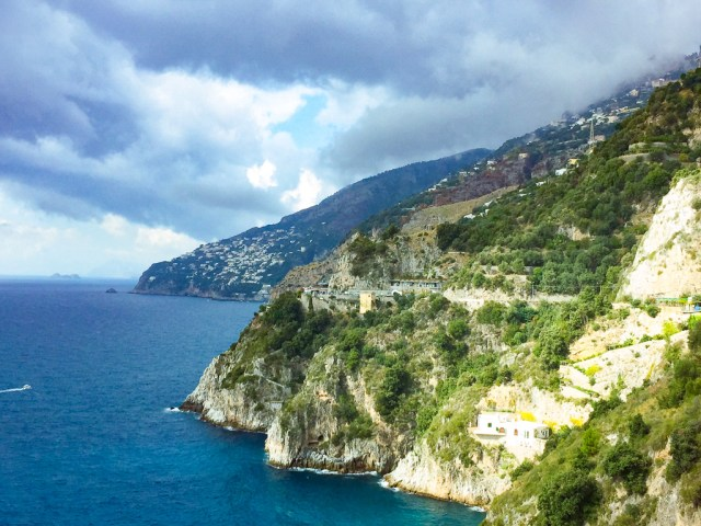 Driving the Amalfi Coast is a breathtakingly beautiful experience!