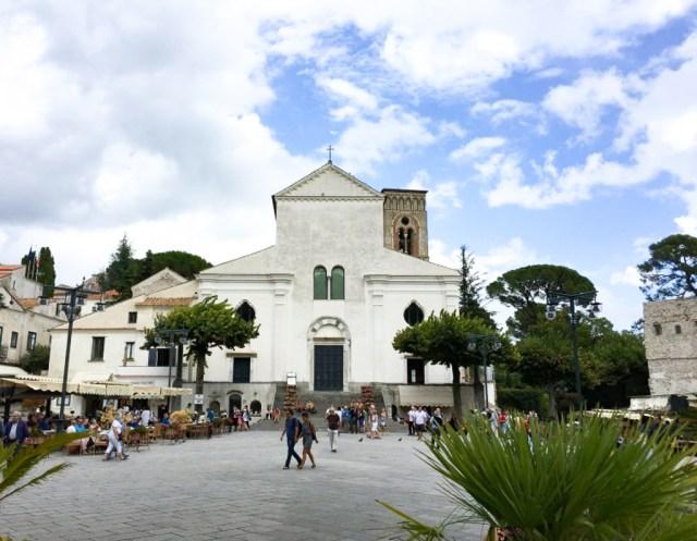 The Duomo di Ravello on the Amalfi Coast of Italy