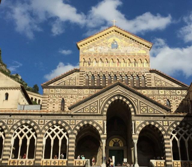 The Duomo of Amalfi on the Amalfi Coast