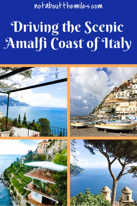 Driving the Amalfi Coast of Italy is a breathtakingly beautiful experience. See what you must not miss on a day trip from Sorrento to the Amalfi Coast.