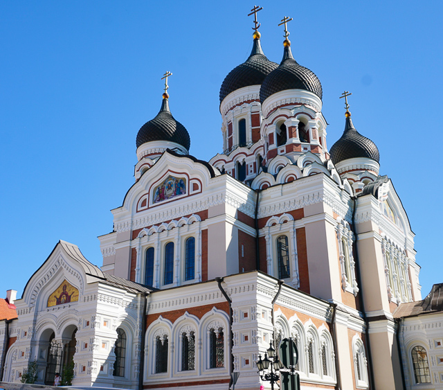 The Alexander Nevsky Cathedral in Tallinn Old Town, Estonia