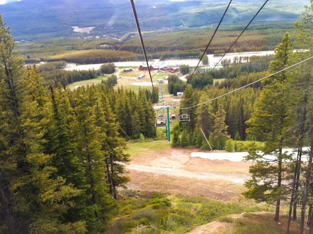Lake Louise Gondola and Ski Lift Alberta Canada