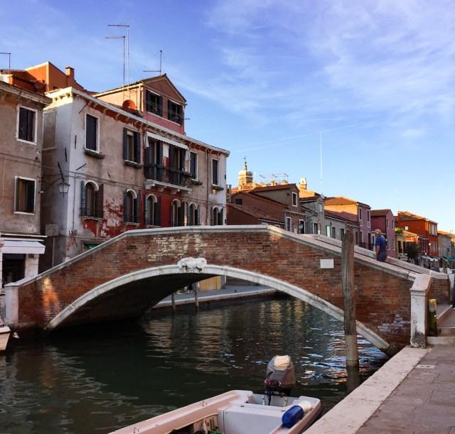 A bridge in Murano, Italy