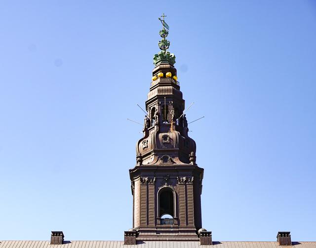 Christiansborg Palace Tower, Copenhagen, Denmark