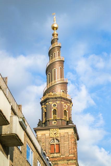 Church of Our Savior Copenhagen Denmark