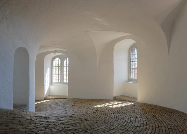 Round Tower Ramp, Copenhagen, Denmark