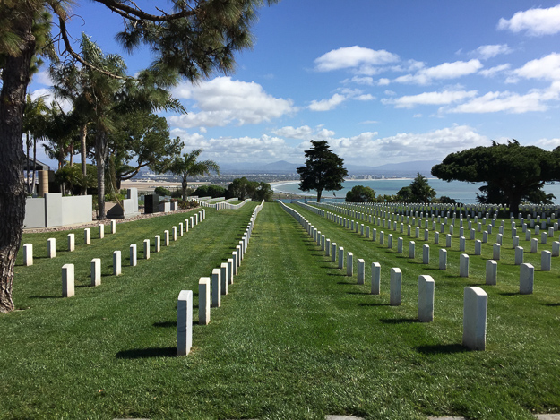 Fort Rosecrans National Cemetery San Diego California