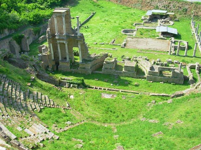 Roman Theater Volterra Italy