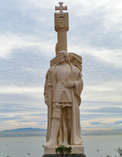 Statue of Juan Cabrillo, Cabrillo National Monument, San Diego, California