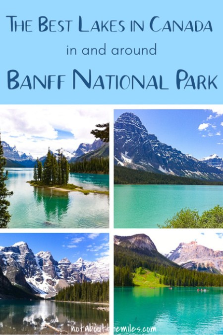 Discover the most beautiful lakes in Canada located in and around Banff National Park in the Canadian Rockies. You can boat, hike, bike, or jujst relax and enjoy the amazing scenery all around you!