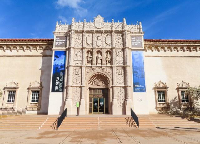 San Diego Museum of Art, Balboa Park, San Diego, California