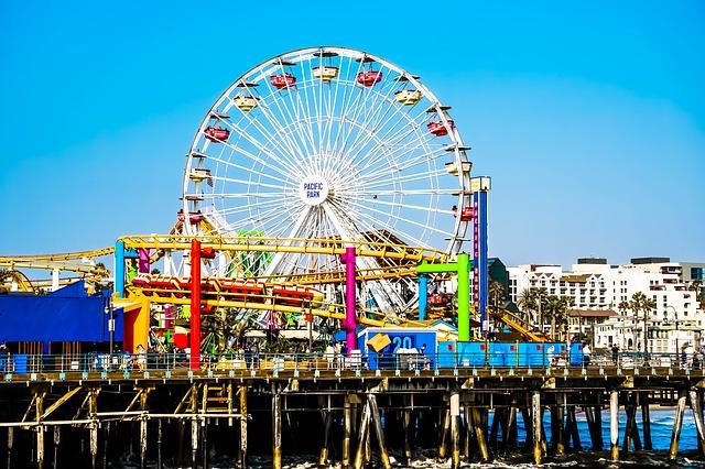 Santa Monica Pier, Los Angeles, California