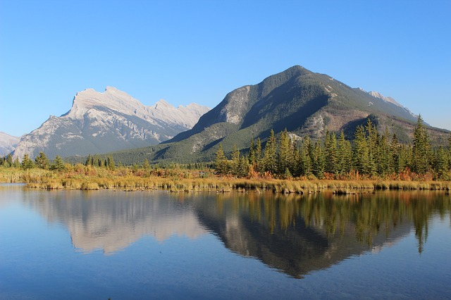 Vermillion Lakes Banff Canada