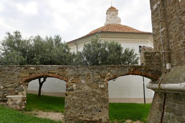 Baptistery Church of St. George Piran Slovenia
