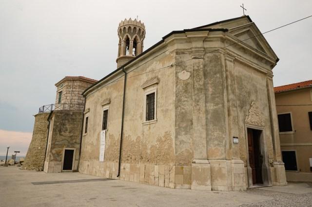 Church of St. Clement Piran Slovenia