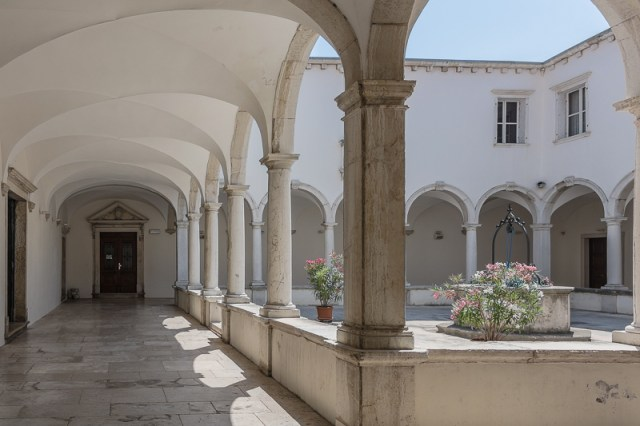 Cloisters Piran Franciscan Monastery