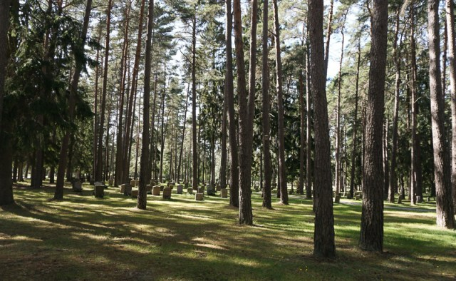 Graves at the Woodland Cemetery Stockholm
