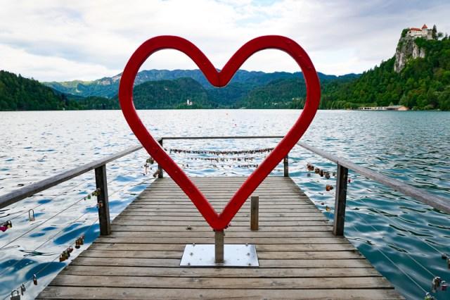 Heart of Bled Photo Spot Lake Bled Slovenia