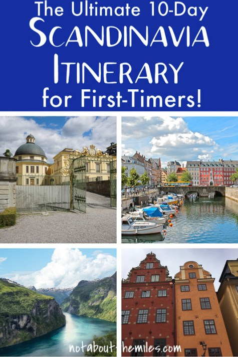 The ultimate 10-day Scandinavia itinerary for first-timers covers the best of Sweden, Denmark, and Norway! Discover the best things to do, ideas for where to stay, and must-not miss attractions!