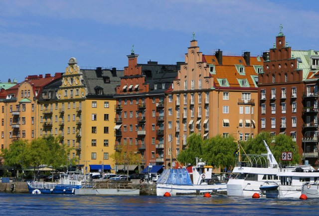 Buildings in Stockholm Sweden