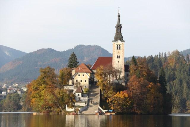 Church of the Assumption Bled Island Slovenia