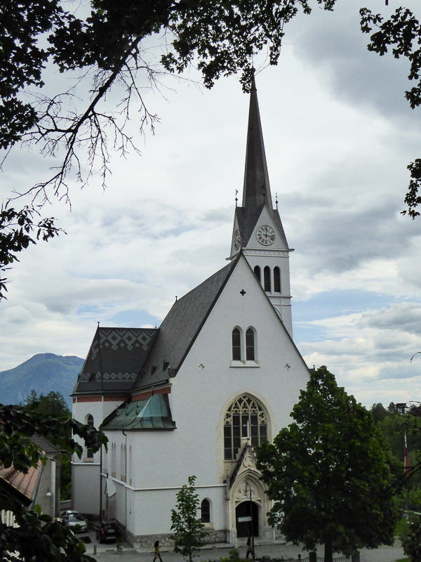Church of St. Martin Bled Slovenia