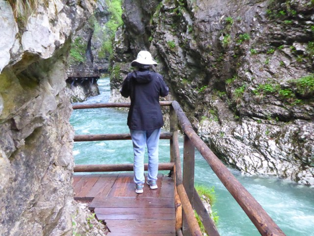 Photographing Vintgar Gorge in Slovenia