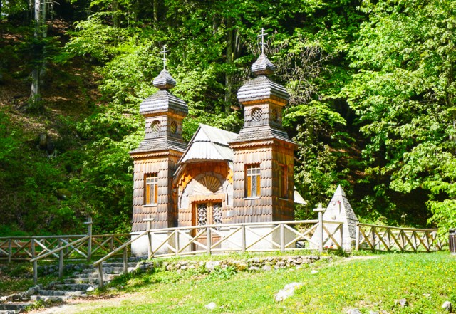 Russian Chapel Kranjska Gora Slovenia