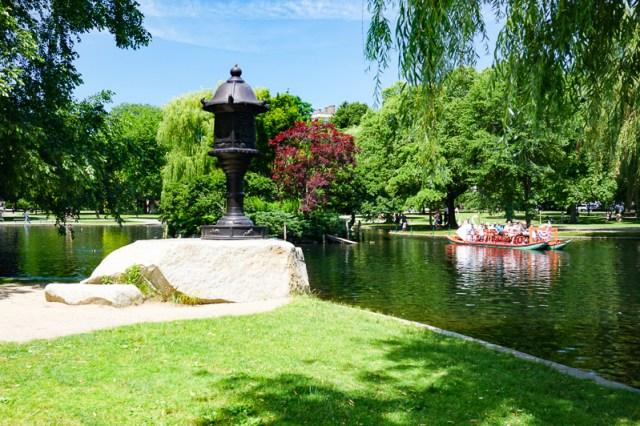 Swan Boat Boston Public Garden