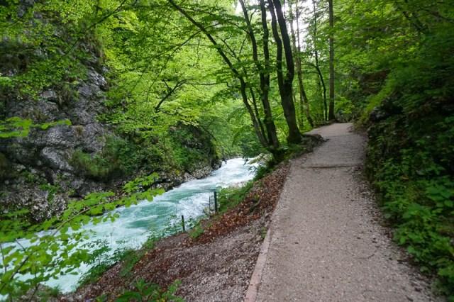 Vintgar Gorge Trail Slovenia