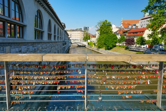 Butchers' Bridge Ljubljana Slovenia