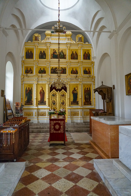 Court Church on Cipur Iconostasis, Cetinje, Montenegro