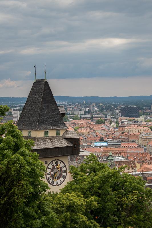 The Clock Tower in Graz Austria