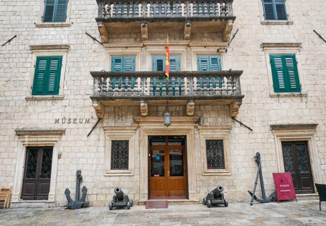 Maritime Museum Kotor Montenegro
