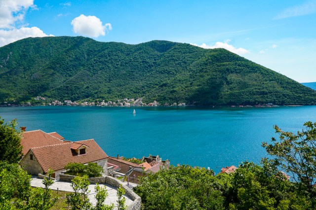 Driving along the beautiful Bay of Kotor is one of the best things to do in Montenegro