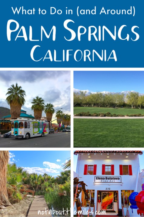 Discover the best things to do in Palm Springs, California! Tour mid-century modern architecture, have a spa treatment, explore the desert, and enjoy downtown Palm Springs. It's a fabulous weekend getaway in sunny California.