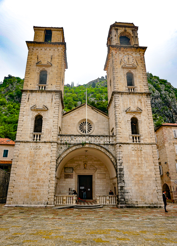 Tryphon Cathedral Old Town Kotor Montenegro