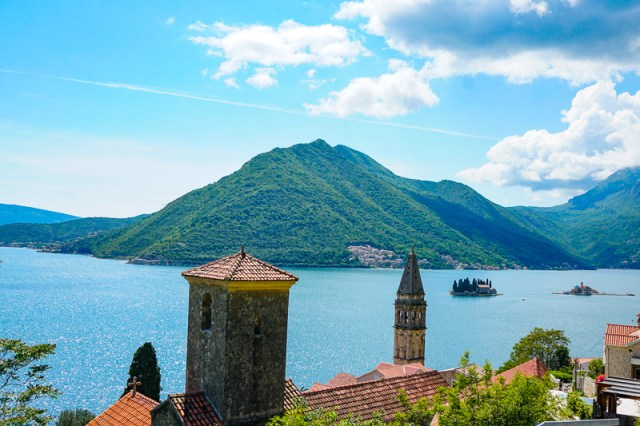 View from Road Above Perast, Montenegro