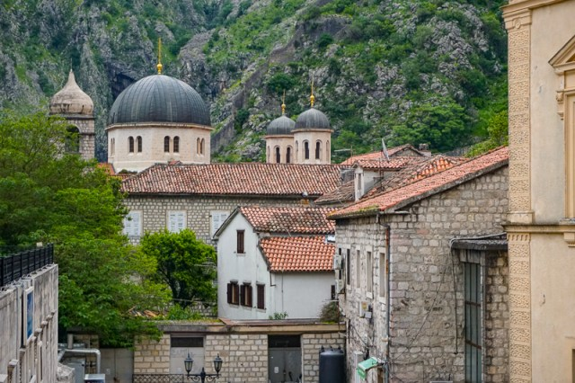 View in Kotor Montenegro