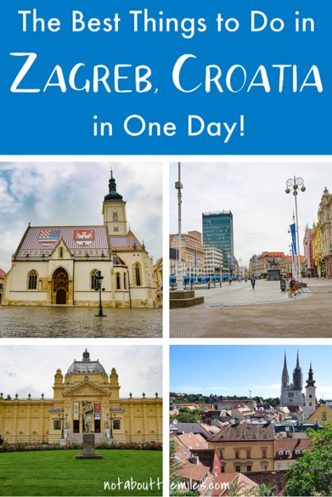 From seeing the Zagreb Cathedral to hanging out in Ban Jelacic Square and walking the picturesque Upper Town to admiring the architecture, there are a lot of things to do in Zagreb, the capital of Croatia. Discover how to spend one perfect day in Zagreb!