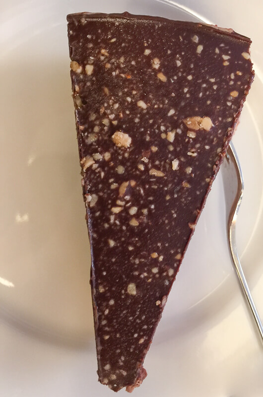 Chocolate dessert Kornat Restaurant Zadar Croatia