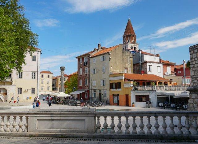 Petar Zoranic Square Zadar Croatia