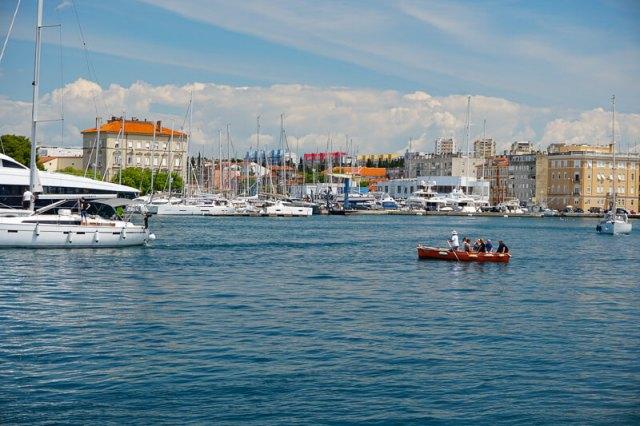 Boatman in Zadar Croatia