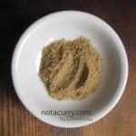 Chaat masala powder