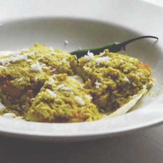 Fish paturi traditional Bengali recipe